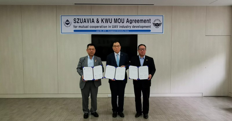 WUAVF Signs MOU with Korean Kyungwoon University