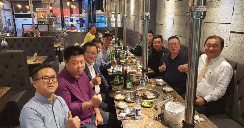 Meet university professor in Korea