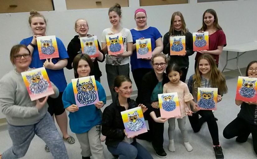 Westminster Youth Group Paint Night