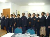 Uniforms donated to home based carers by Duchess - 25.09.09 020