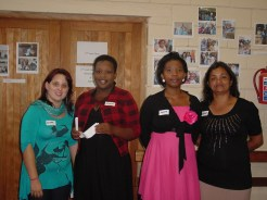 Teachers Elana, Sanele, Portia & Shirley