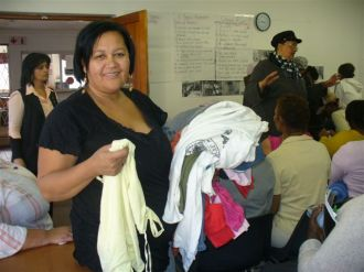 Common Ground church hands out clothes to Westlake women 009