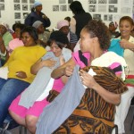 Common Ground church hands out clothes to Westlake women 015