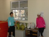 A huge donation of sandwiches from Run/Walk for life, Constantia