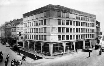Parkhaus anno 1960.