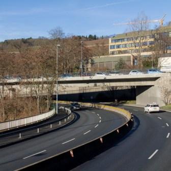 Über viele Jahre war diese Kurve am Stadtring eine der unfallträchtigsten Stellen im Stadtgebiet.