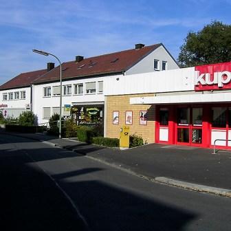 In der Gartenstadt gab es auch viele Jahre noch eine eigene Kupsch-Filiale. Inzwischen wurde diese ersatzlos geschlossen.