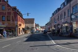 Blick in die Wenzelstrasse