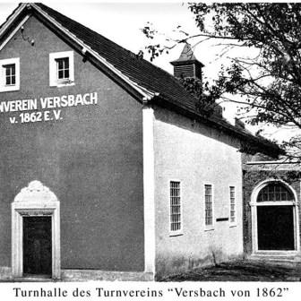 Historische Postkarte aus Versbach.