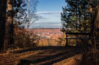 Blick auf Würzburg vom Dallenberg aus gesehen.