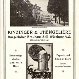 Bürgerbräu historisch.