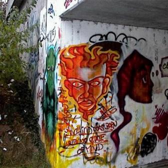 Graffiti in Würzburg