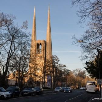Die evangelische St. Johannis Kirche.