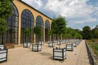 Die Orangerie im Hofgarten der Würzburger Residenz