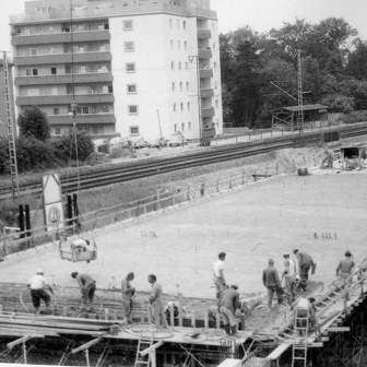 Baubreiten am Stadtring auf Höhe des Süd-Bahnhofs.