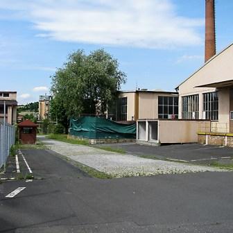 Leere Gebäude in der Kaserne.