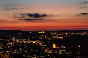 Traumhafter Sonnenuntergang an einem Abend im Juli 2013.