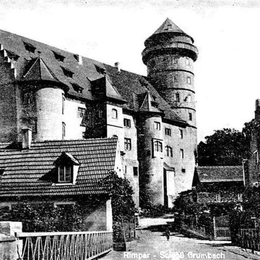 Rimpar Schloss 1949