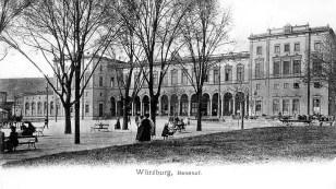 Würzburg Hauptbahnhof 1904