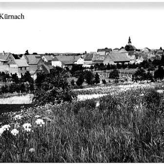 Historische Postkarte von 1963 aus Kürnach.