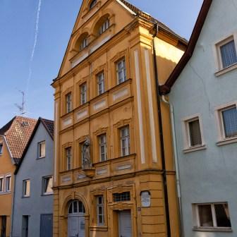 In diesem Gebäude befindet sich das Trachtenmuseum von Ochsenfurt.
