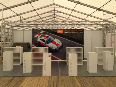 Porsche Key Visual RettMobil in Fulda