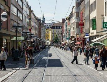 Die Kaiserstraße in Würzburg (Archivfoto: wuerzburg24.com)