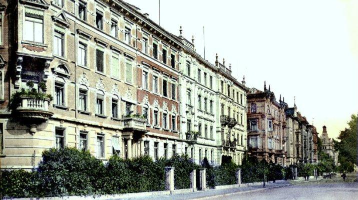 100 Jahre Bismarckstraße in Würzburg