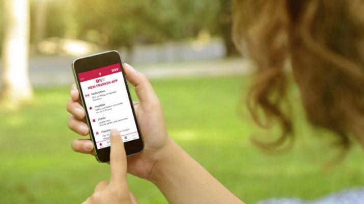 Mein Franken App der WVV: Würzburg für die Hosentasche