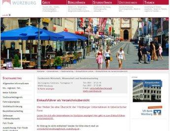 Würzburgs digitaler Einkaufsführer