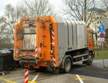 Müllauto der Stadtreiniger