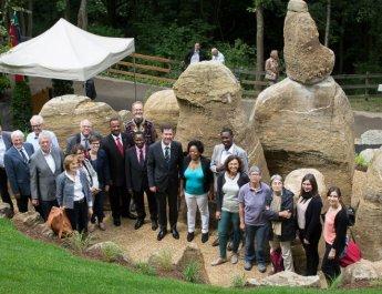 Mwanza-Garten eröffnet