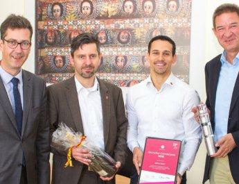 iNDTact holt Gründerpreis nach Würzburg