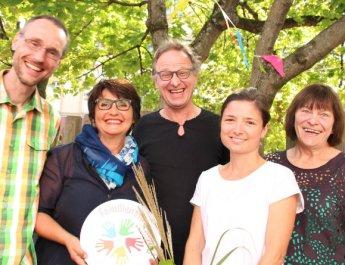 Fünf Jahre Familienstützpunkte mit Spielplatzfest gefeiert