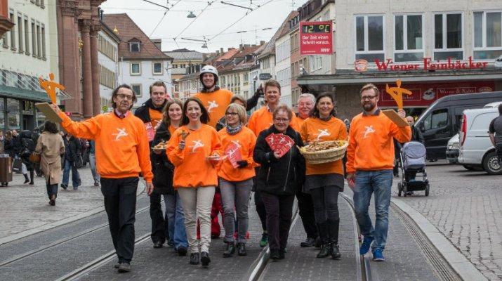 """Mitmachtaktion """"Würzburg bewegt sich"""" gestartet"""