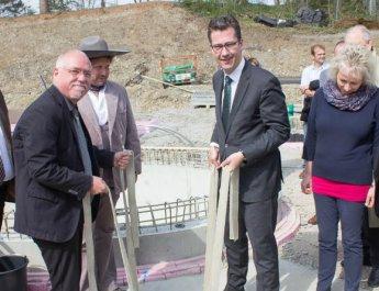 Grundsteinlegung für neue Umweltstation