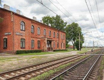 Bahnhof in Riga