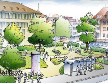 Phase 2 am Kardinal-Faulhaber-Platz: Grüner Platz schon in 2017