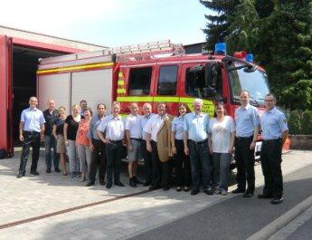 Mitglieder des Stadtrates besuchten Freiwillige Feuerwehren