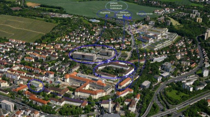 Große Bauvorhaben für den Gesundheitsstandort Würzburg