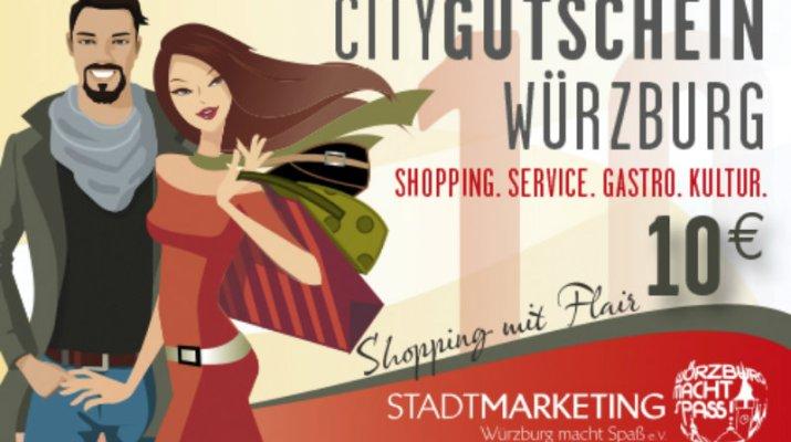 CityGutschein Würzburg: Neuauflage eines Erfolgsmodells