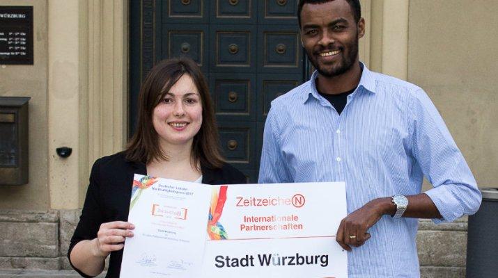 Nachhaltigkeitspreis: Stadt erhält Urkunde für Partnerschaft zu Mwanza