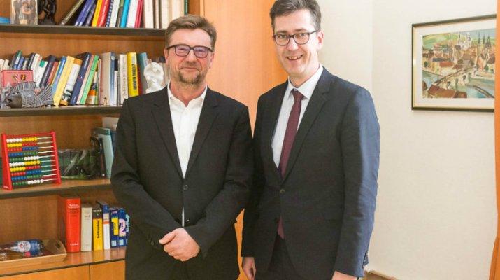 Achim Könneke ist neuer Kultur-, Schul- und Sportreferent der Stadt Würzburg