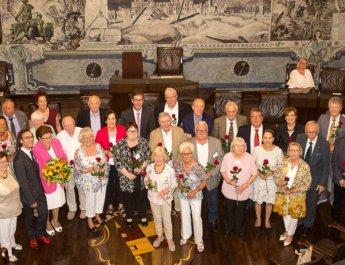 Stadt feiert 40 Jahre Seniorenbeirat und Seniorenvertretung