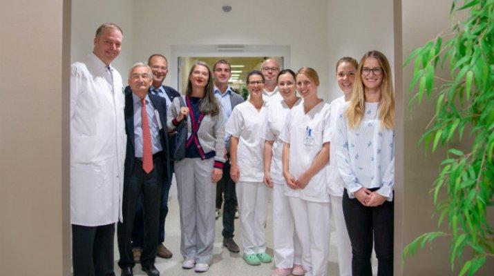 Eröffnung neue Ambulanz in der Frauenklinik