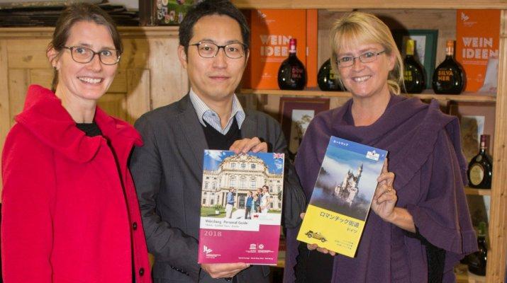 Austausch mit Touristikern aus japanischer Partnerstadt