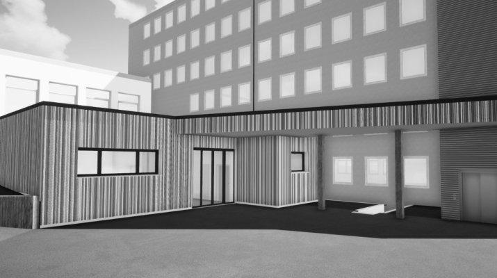 Neubau der Notaufnahme der Universitäts-Kinderklinik