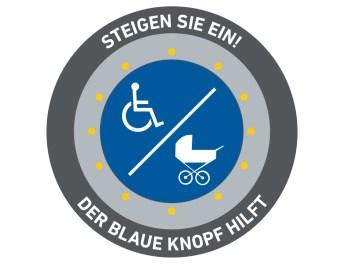 """Barrierefrei und sicher unterwegs: Der """"Blaue Knopf"""" hilft"""