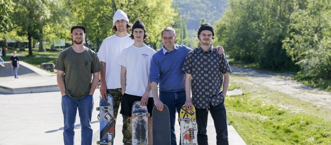 Skatesafari: Die Skatersaison in den Mainwiesen hat begonnen