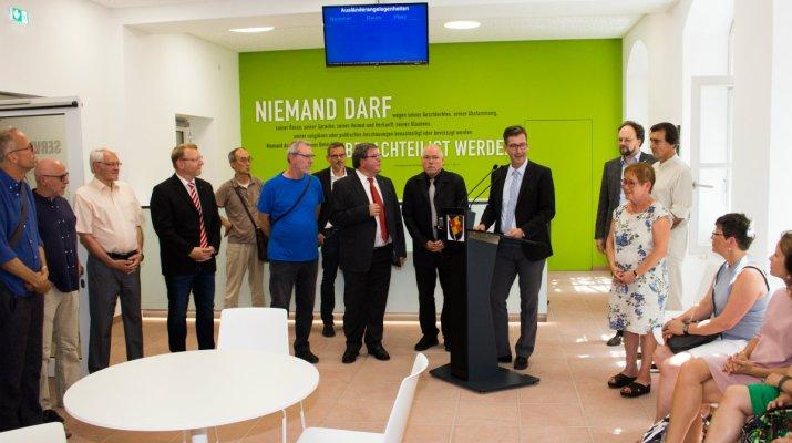 """Eröffnung des neuen Service-Points: """"Willkommensbehörde"""" geht an den Start"""